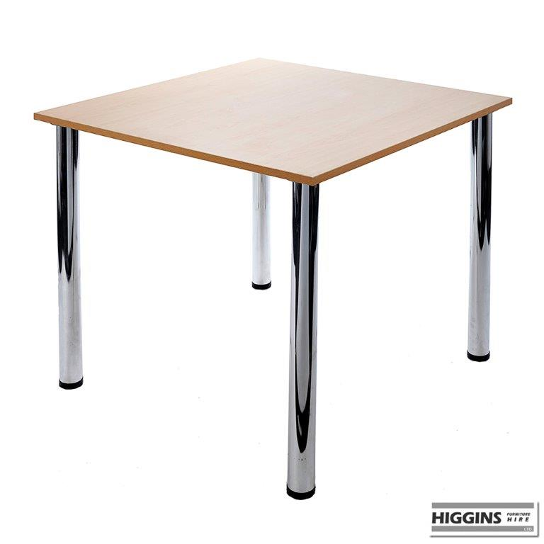 Beech Table 36 Inch X 36 Inch Higgins Ie