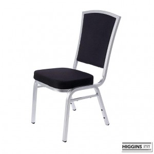 Banqueting Chair Alumium Frame Black