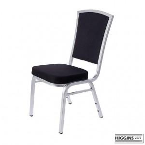 Banqueting Chair Alumium Frame Black
