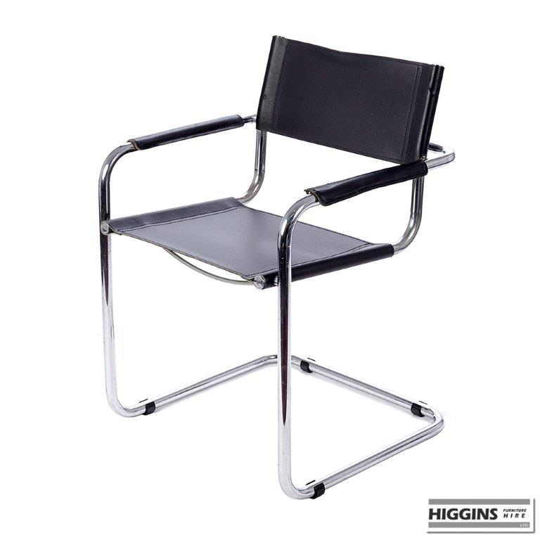 Chair Black Leather for Sale Higgins