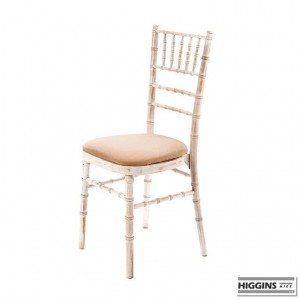 Chiavari Chair Limewash Ivory Pad