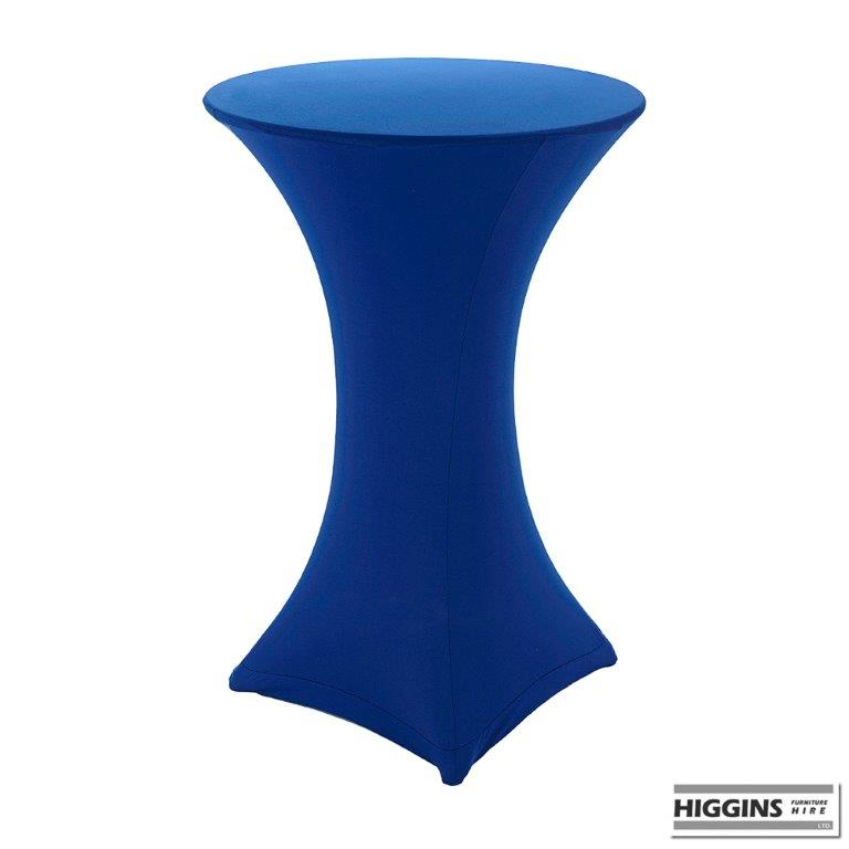 Poseur Pod Table Covered With Spandex 14 Colours