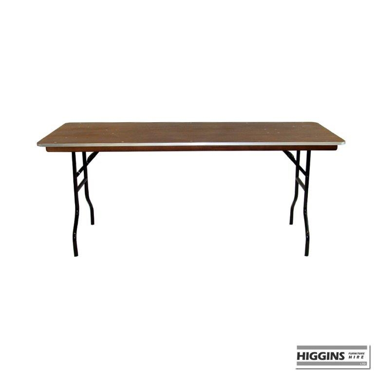 Conference trestle table 6 foot x 18 inch for Table 6 feet