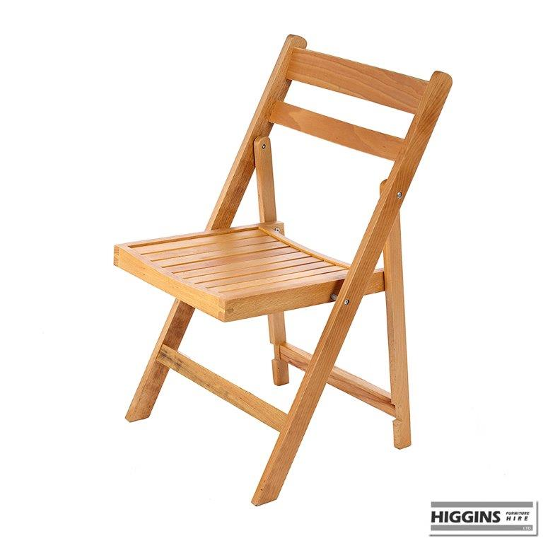 Wooden Folding Chair Higgins