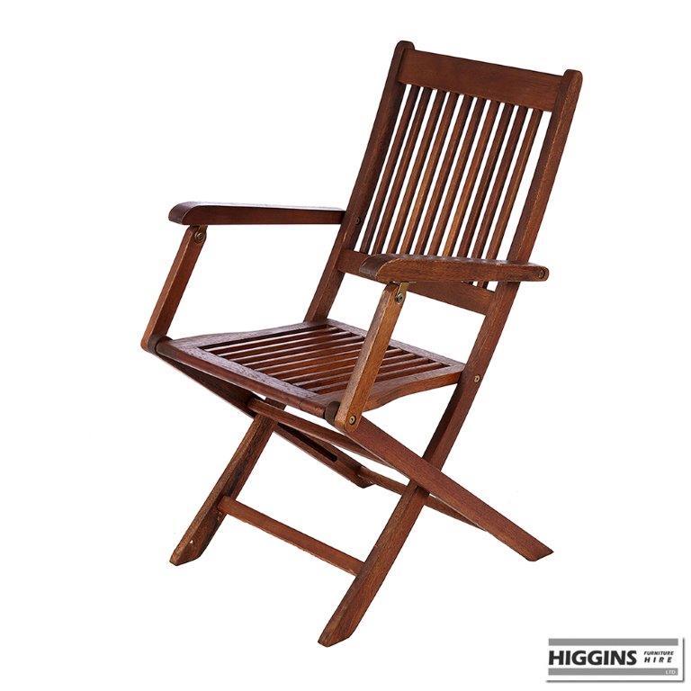 Wooden Garden Chair Higgins