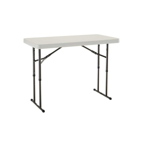 Charmant 4 Foot X 24 Inch Height Adjustable Trestle Table