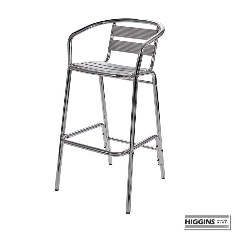 aluminium high stool higgins ie