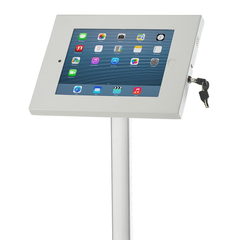 iPad Holder Higginsie : White iPad holder 41 from higgins.ie size 800 x 800 png 211kB