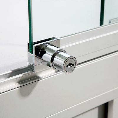 Glass Display Cabinet or Showcase 1 Metre wide - Higgins.ie