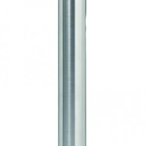 Chrome Stanchion Post with Retractable Red Belt
