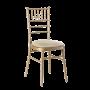 Chiavari Chair Gold Ivory Pad