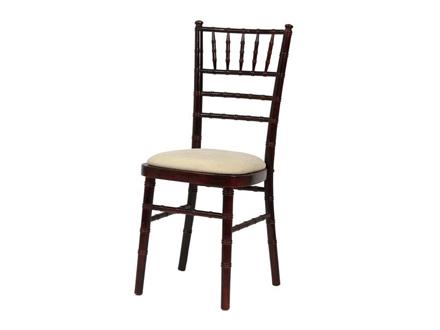 Chiavari Chair Mahogany with choice of Coloured Pad  sc 1 st  HIGGINS Furniture Hire & Chiavari Chair Mahogany with choice of Coloured Pad - Higgins.ie