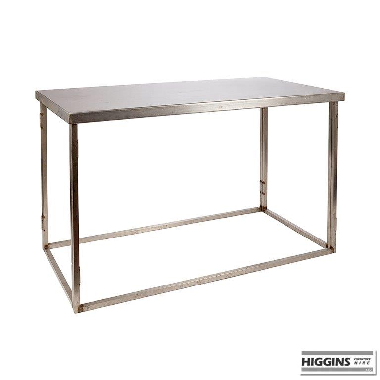 Stainless Steel Table 5 Foot X 28 Inch