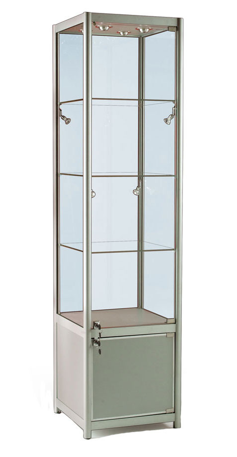 glass door display cabinet glass display cabinet or showcase higgins ie 15838